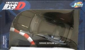 Packaging dessus de la Nissan Skyline GTR R32 d'Initial D (Jada Toys)
