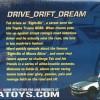 Packaging dos de la Nissan Skyline GTR R32 d'Initial D (Jada Toys)