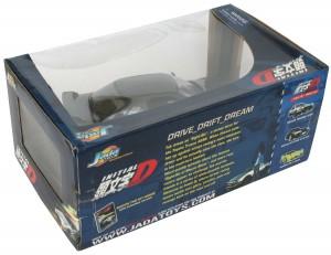 Dos du Packaging de la Nissan Skyline GTR R32 d'Initial D (Jada Toys)