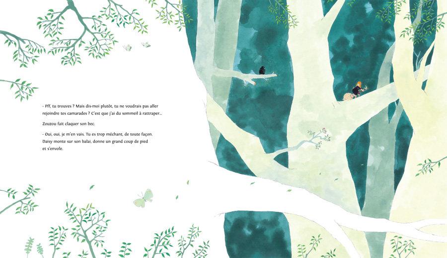 Page 22 et 23 du livre Daisy, l'apprentie sorcière de nobi nobi !