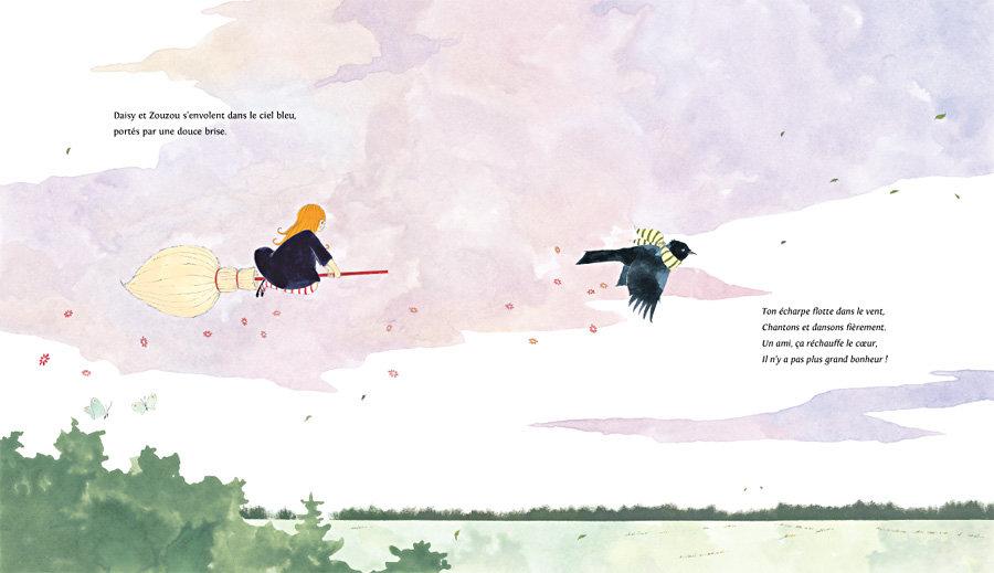 Page 32 et 33 du livre Daisy, l'apprentie sorcière de nobi nobi !