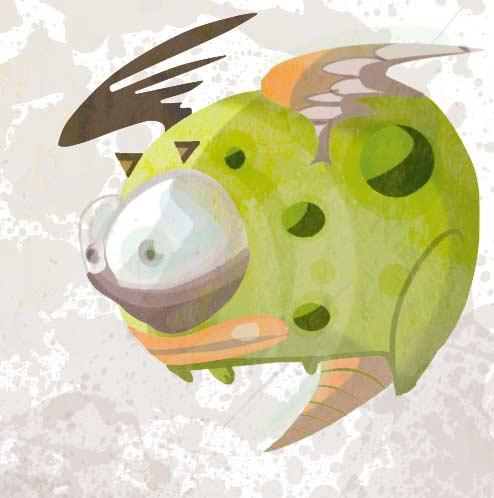 petit dragon par oTTami