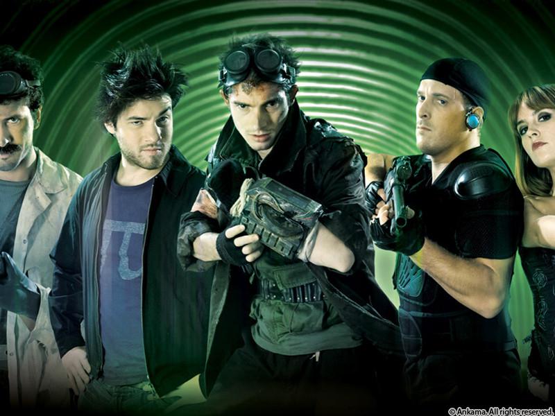Image des héros de la saison 2 du visiteur du futur