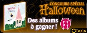 Concours Halloween nobi nobi / Otakia : Daisy, l'apprentie sorcière
