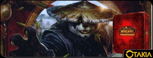 Header Otakia boite collector de Mists of Pandaria (World of Warcraft)