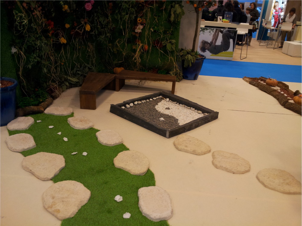 Jardin Zen à Kid Expo