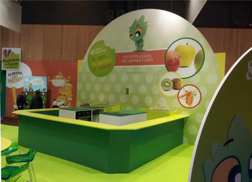 Stand Cuisine sur Kid Expo