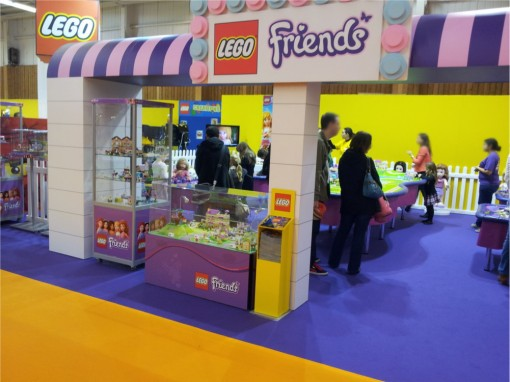 Stand Lego Friends à Kid Expo