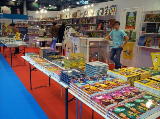 Stand Lombart à Kid Expo