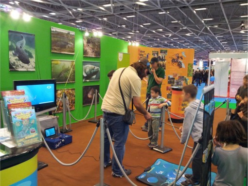 Stand pêche à Kid Expo
