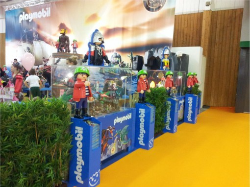 Stand Playmobil sur Kid Expo