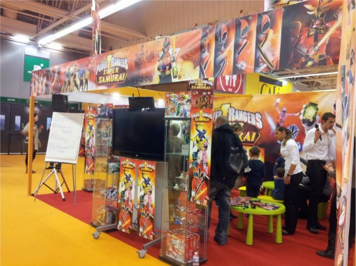 Stand Power Rangers sur Kid Expo