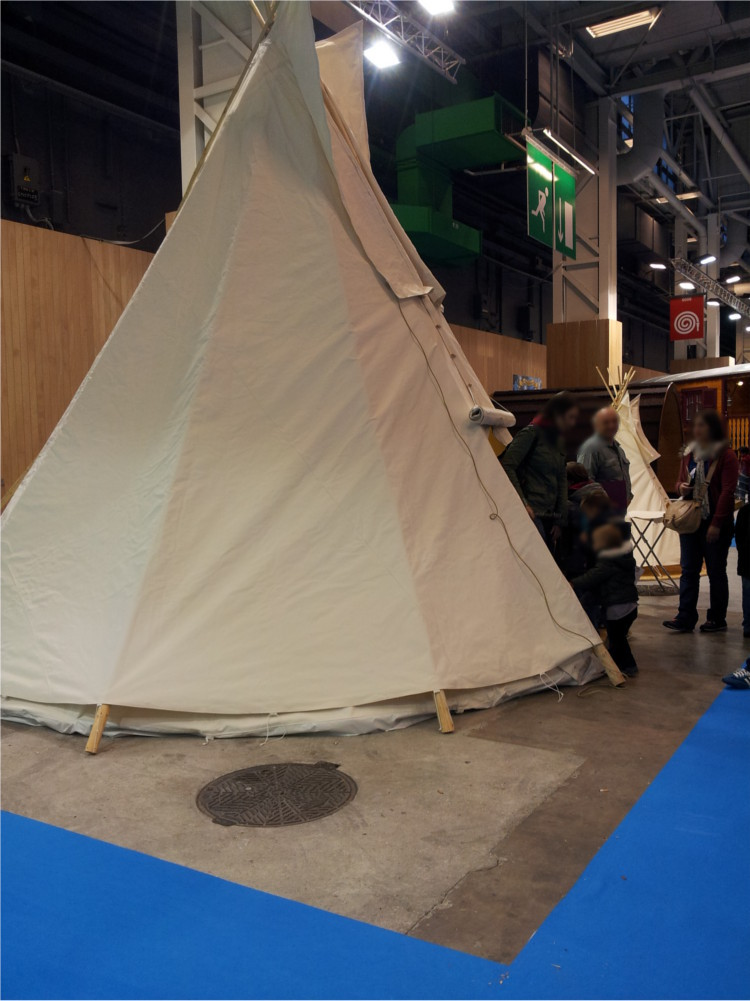 Tipi sur Kid Expo