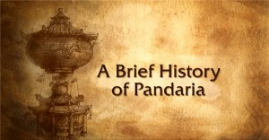 Exemple de menu du making of Mists of Pandaria (World of Warcraft)