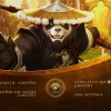 Menu général du making of Mists of Pandaria (World of Warcraft)