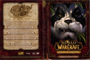 Couverture du DVD Making of de Mists of Pandaria avec le contenu complet