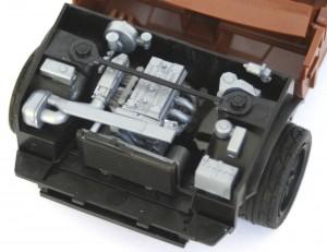 Le moteur de la Trueno est très détaillé