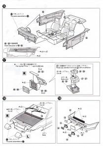 Plan de montage de la Toyota Trueno AE 86 d'Initial D - ech 1/24 (Aoshima) - Page 8
