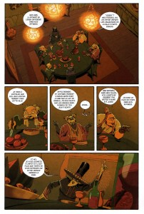 Page 1 du comics Remington N°10
