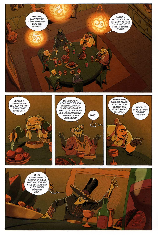 Page 1 du comics Remington N°10
