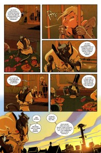 Page 4 du comics Remington N°10