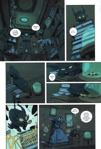 Page 2 du Comics Remington N°11 (Wakfu)