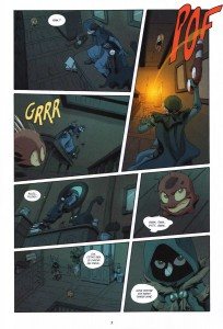 Page 3 du Comics Remington N°11 (Wakfu)