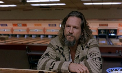 The Dude (Jeff Bridges) dans The Big Lebowski