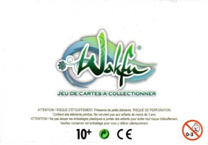 Packaging dessous de la figurine Wa Wabbit (Dofus - Wakfu)