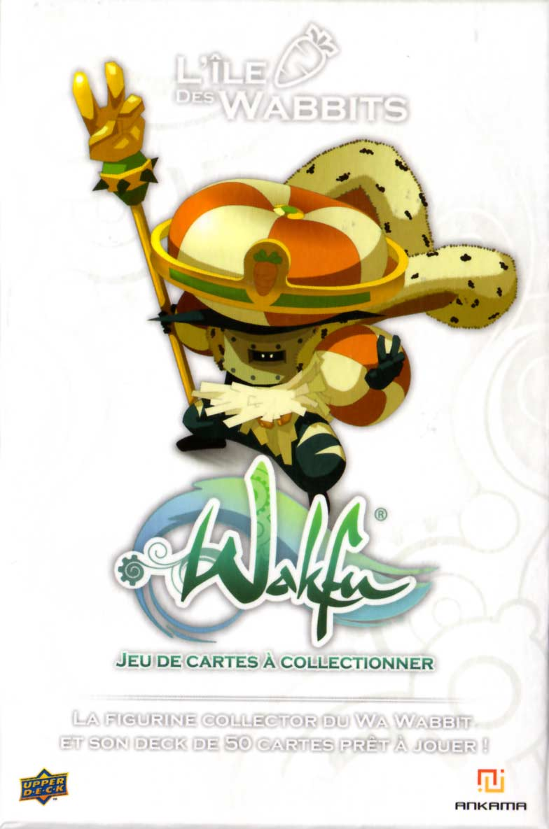 Packaging de la figurine Wa Wabbit (Dofus - Wakfu)