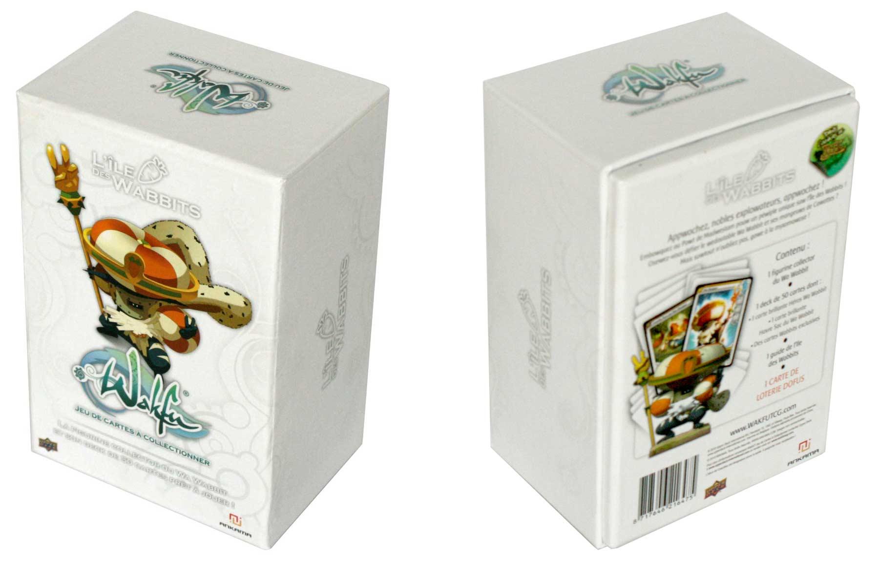 boite de la figurine Wa Wabbit (Dofus - Wakfu) - Packaging