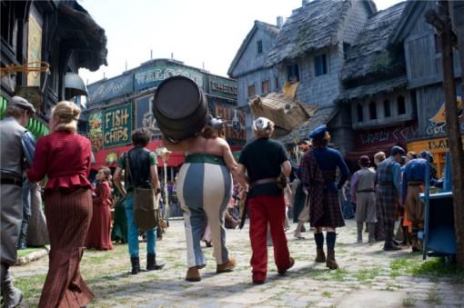 Visite de Londres dans Astérix et Obélix au service secret de sa majesté