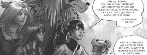 Xiong Mao, Chance et Ombre vont voir le chef de la F.E.A.H dans son bureau car l'avenir de l'école est ménacé