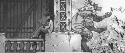 Xiong Mao et Ombre se reposant ensembles.