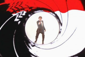 James Bond dans un barillet
