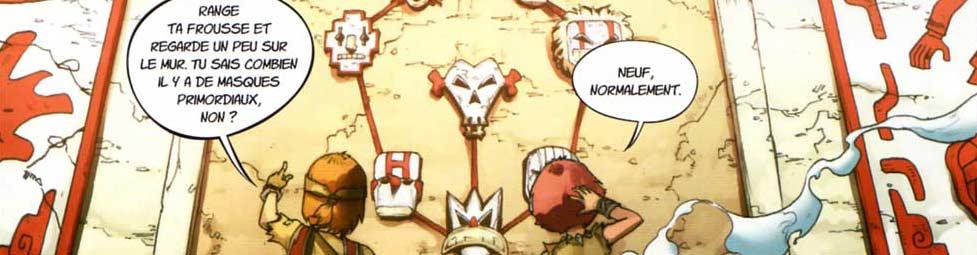 Maskemane et Bravor ne trouvent que 8 des 9 masques