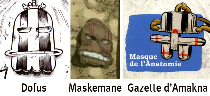 Masque de la Régénération aussi appelé Masque de l'Anatomie (Maskemane)