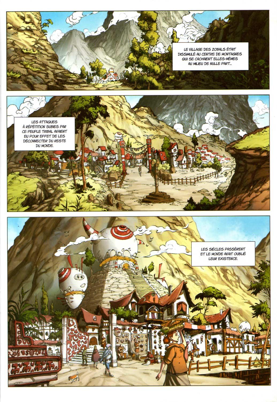 Page 1 du Comics Maskemane N°8 (Wakfu)