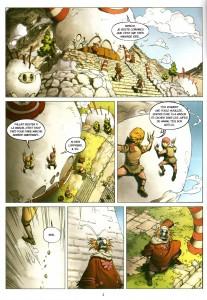 Page 2 du Comics Maskemane N°8 (Wakfu)