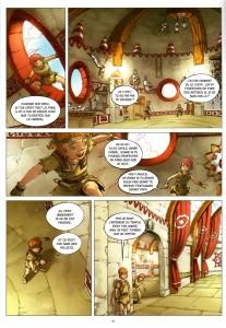 Page 4 du Comics Maskemane N°8 (Wakfu)
