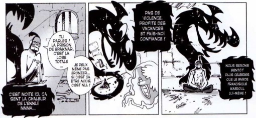 Le Dragon Noir prend possession d'Hyrkul