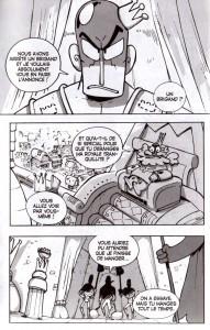 Page 2 du Tome 18 de Dofus : Le retard du roi