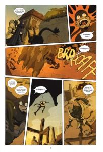 Page 3 du Comics Remington N°12 (Wakfu)