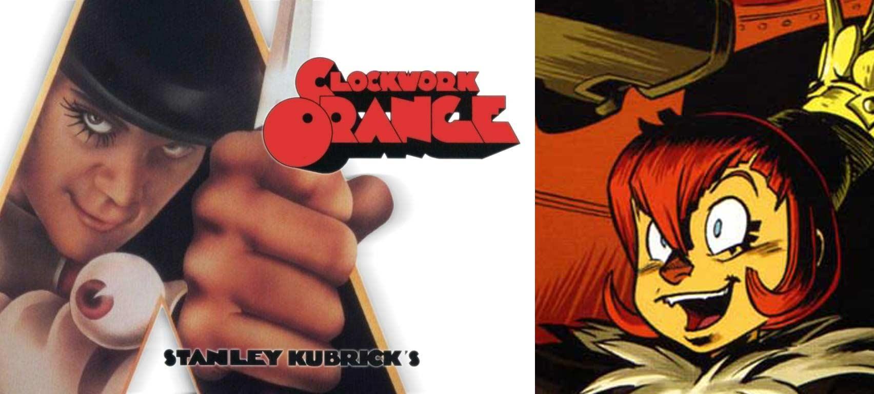 Shak Shaka fait référence au film Orange Mécanique