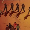 L'armée arrête la bande de Kaneda tandis que Tetsuo, blessé, va être emmené par l'armée
