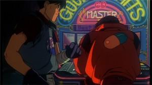 Kaneda dans un bar au début du film