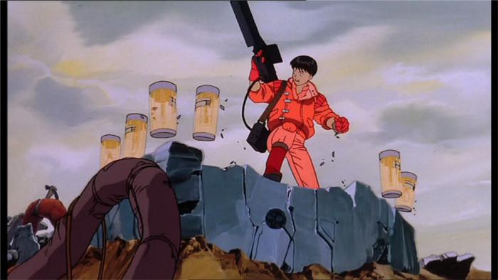 Kaneda contronte Tetsuo pour qu'il redevienne lui-même