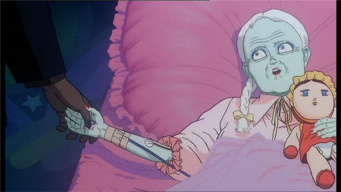 Kyoko vient d'annoncer au colonel qu'elle a vu l'explosion de Neo Tokyo