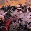 Combat final entre Tetsuo et Kaneda