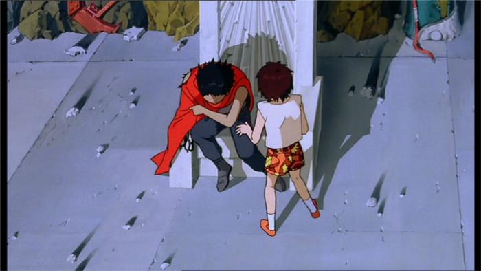 Tetsuo a du mal à contrôler son mal de tete en présence de Kaori